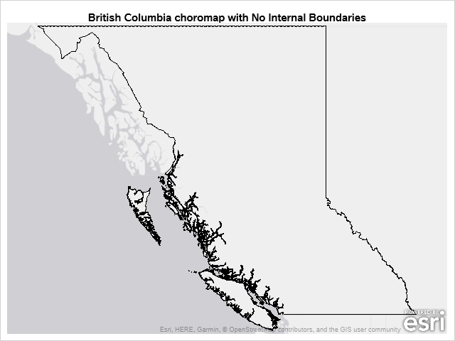 Outline of British Columbia