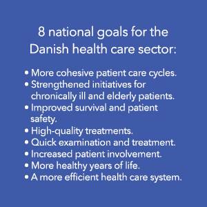 Antibiotic resistance is rising to dangerously high levels - 8 national goals for the Danish health care sector
