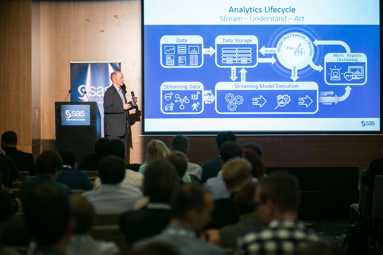 SAS Analytics Day in Hungary