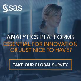 analytics platform. take out survey