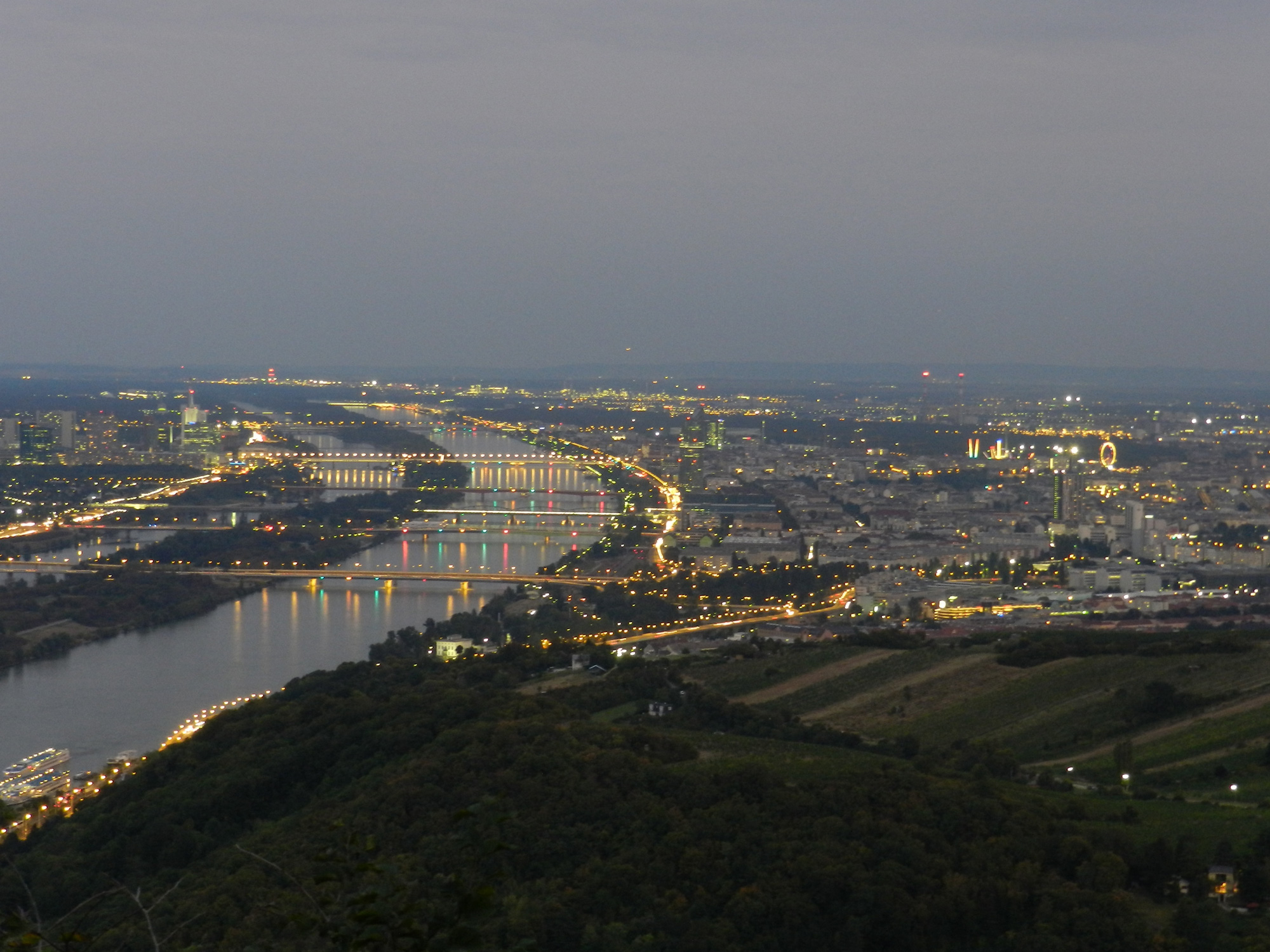 The Danube and Vienna: Big Data Deluge and Data Science Paradise