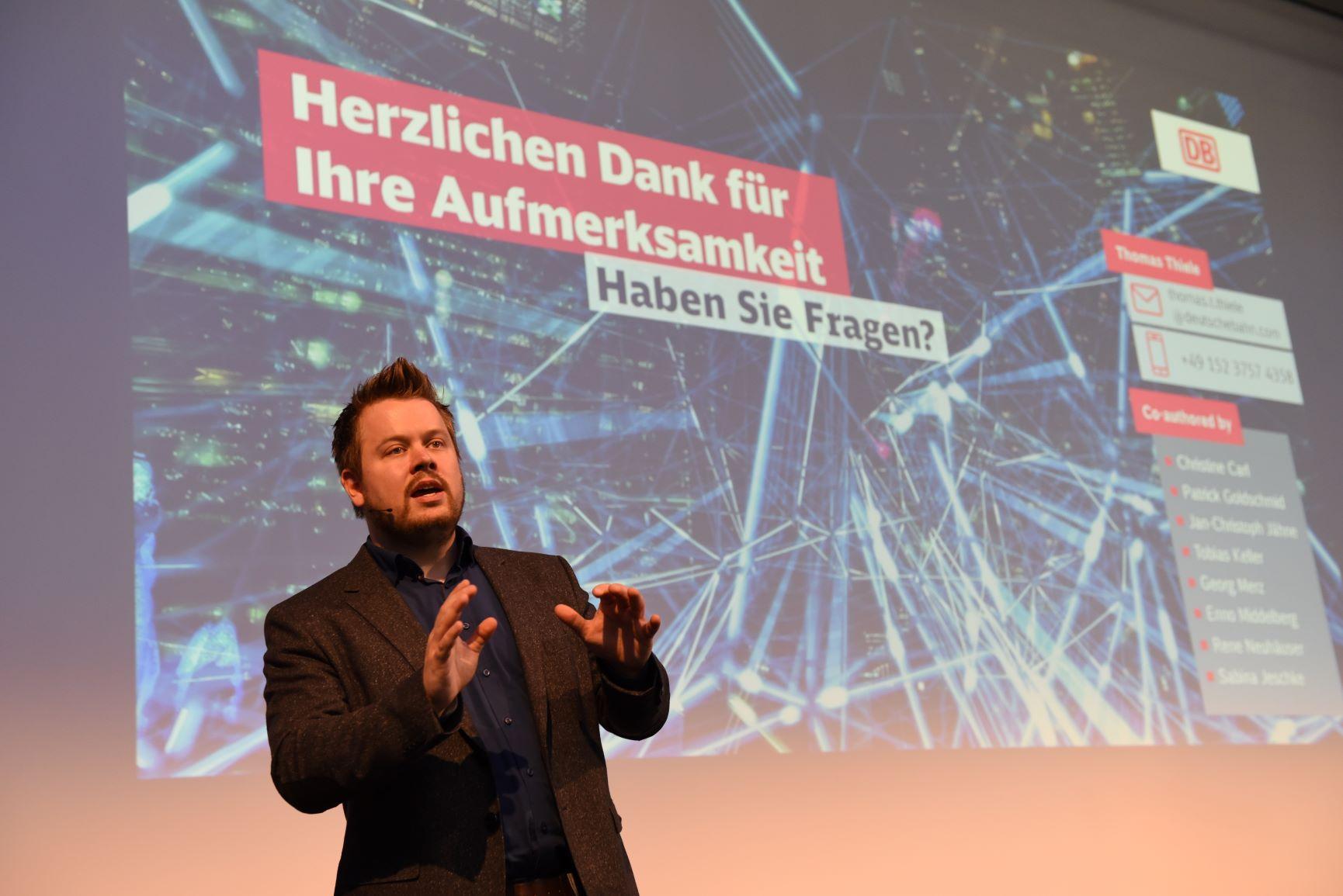 Dr. Thomas Thiele, Deutsche Bahn
