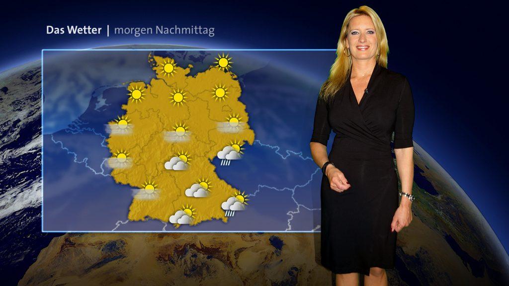 Claudia Kleinert, ARD Wetter
