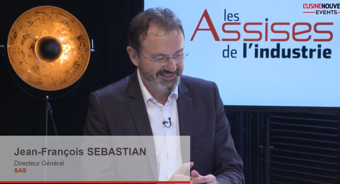 Jean François Sebastian, DG SAS France aux assises de l'Industrie