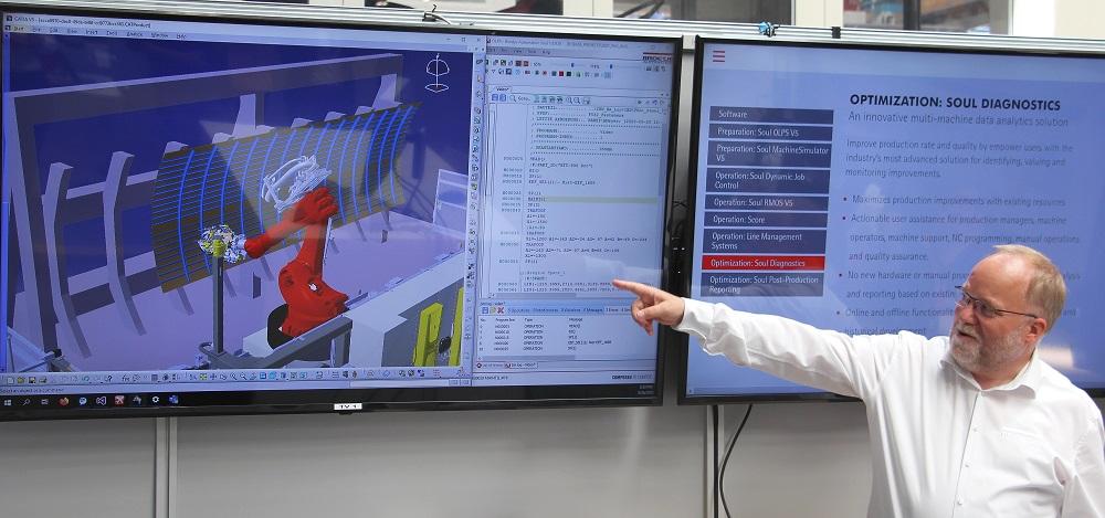 Dirk Eickhorst simuliert am Rechner