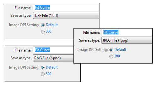 JMP 10 300 DPI Output Options