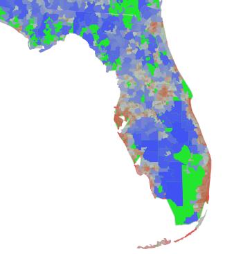 Area Code Map Florida.Zip Code Map Florida