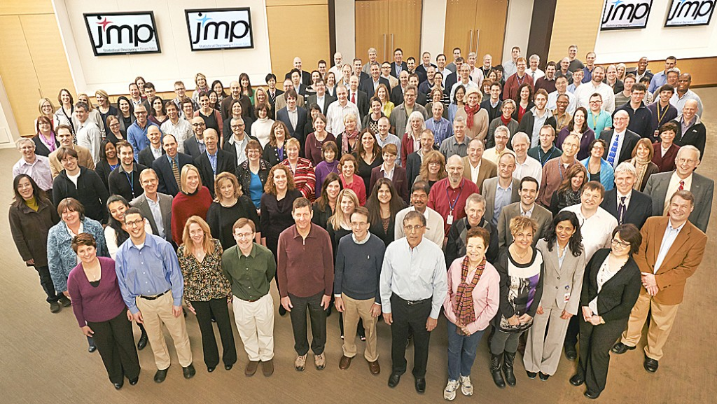 JMP group picture in 2014
