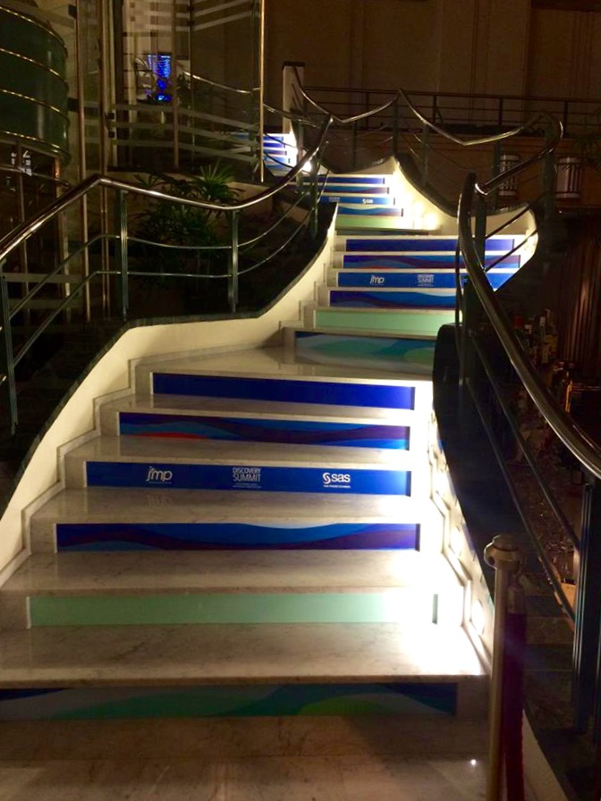 Staircase at Discovery Summit Europe