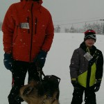 Willie and his family at Snowshoe