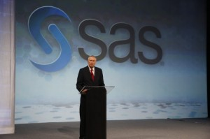 SAS CEO Jim Goodnight