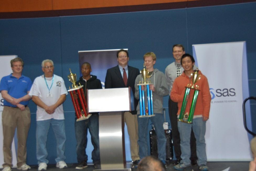 Chess tournament champs