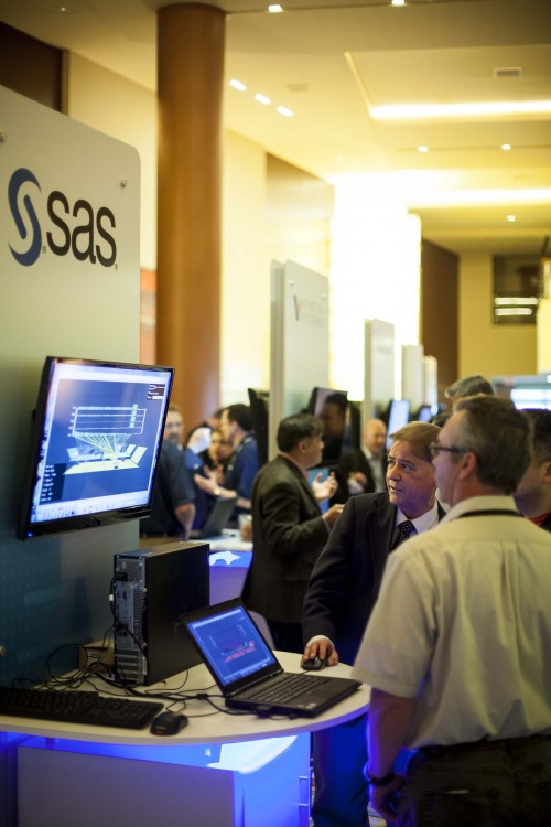 SAS Booth at Axeda