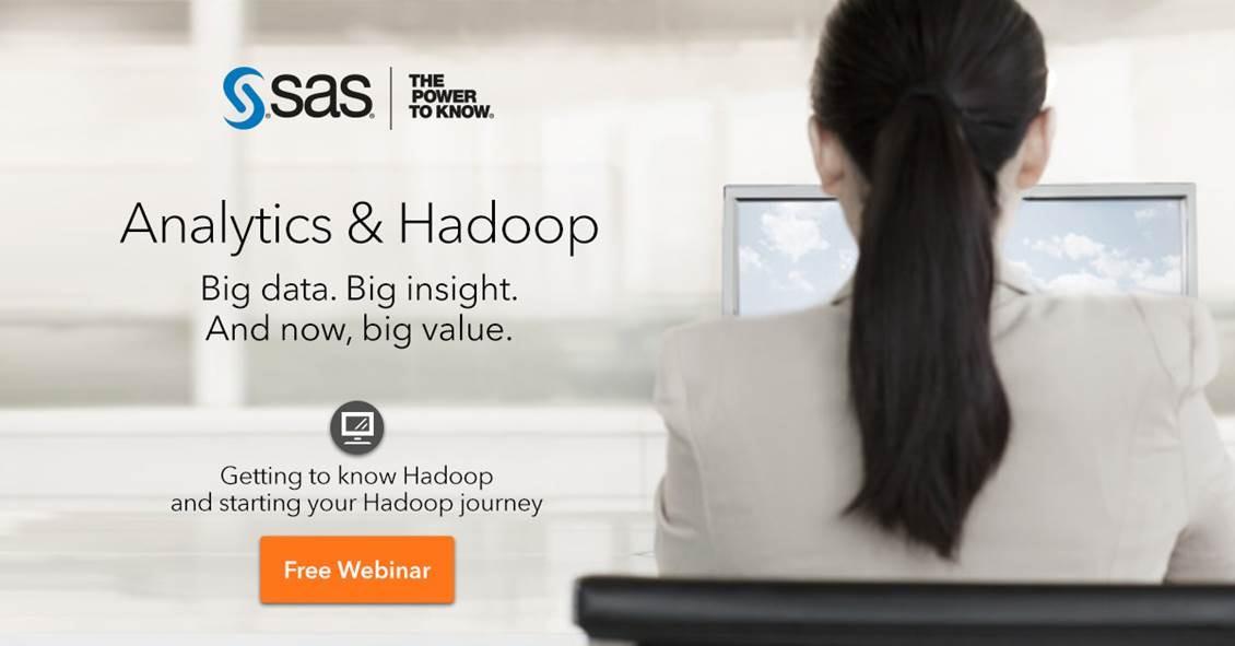 Hadoop webinar promo