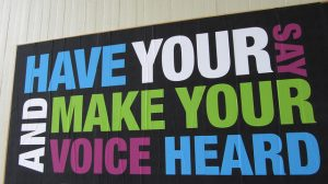 Have Your Voice Heard