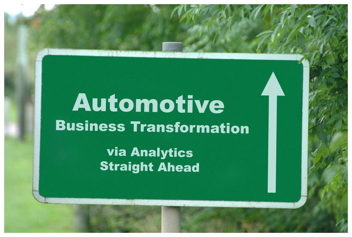 Analytics Drives Transformation in Automotive