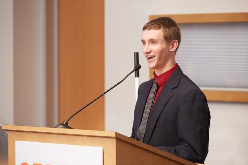 Skynet Junior Scholar Chris Mathews