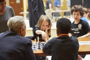 The NC Youth Chess Expo in the NC State Legislative Building, March 1st, 2017