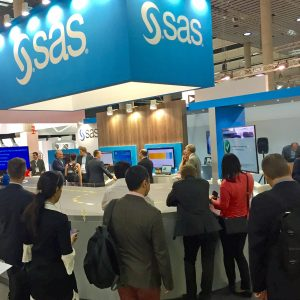 SAS booth at IoT World Congress