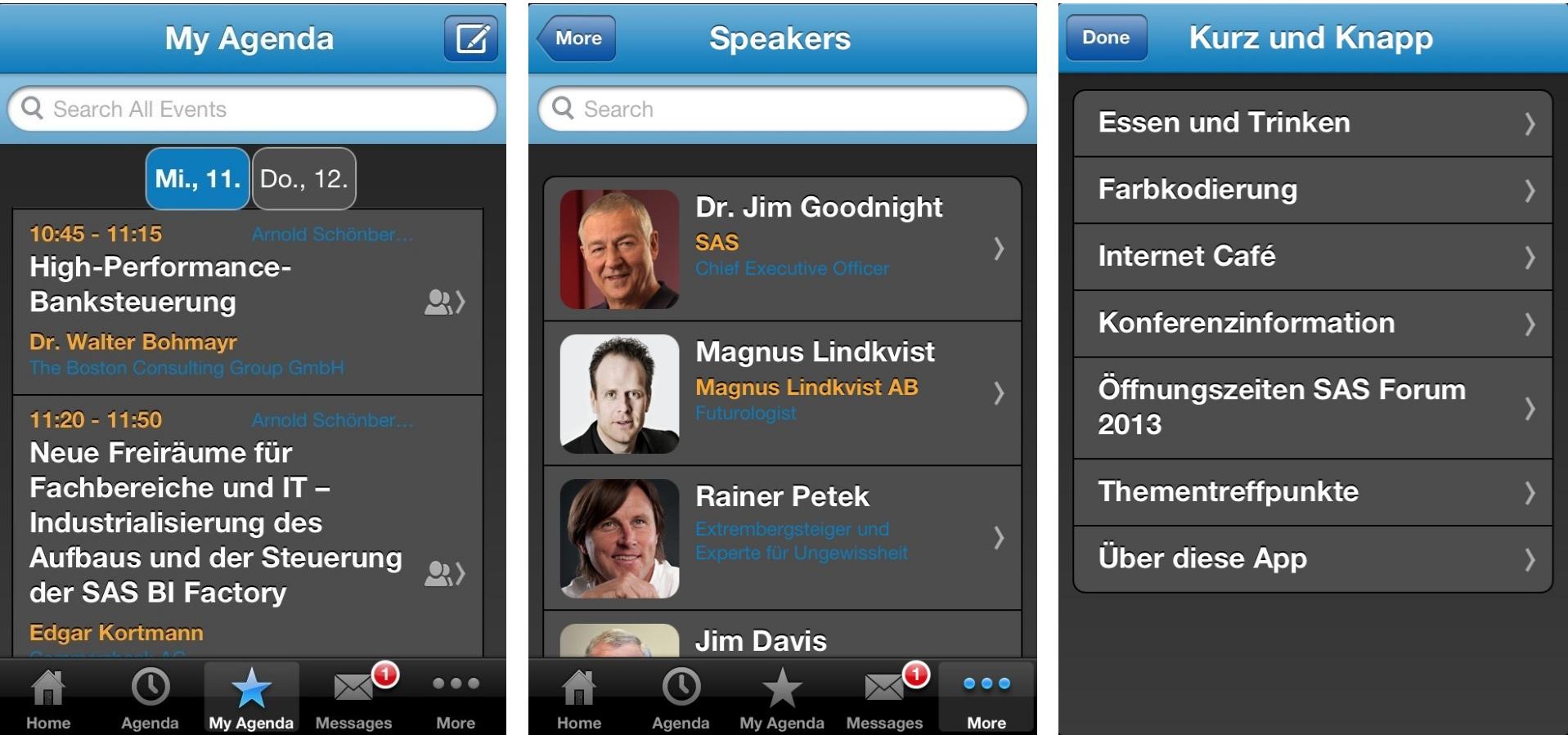 SAS Forum App