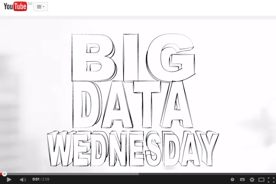 Big Data Wednesday