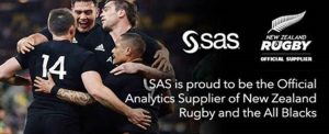New Zealand Rugby selected SAS as Official Analytics Supplier