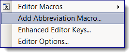 Take SAS program editor abbreviations to the next level