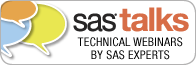 Getting Started with SAS – now available for viewing