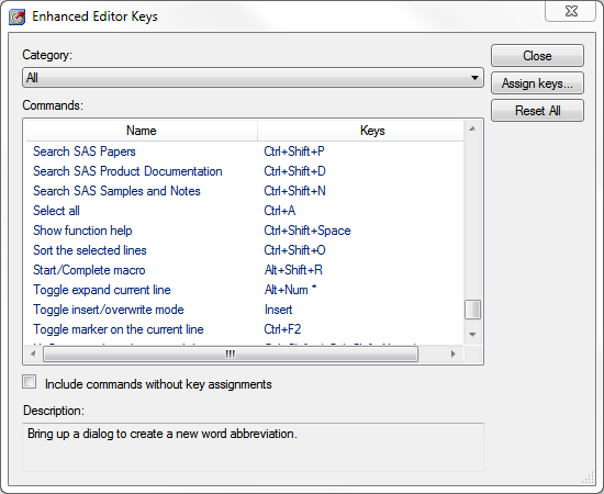 5 keyboard shortcuts in SAS that will change your life