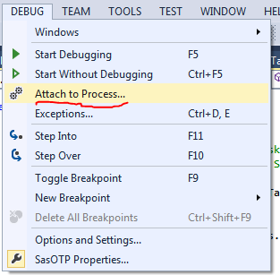 Using Microsoft Visual Studio 2013 Express to debug custom tasks