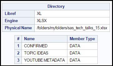 Using LIBNAME XLSX to read and write Excel files