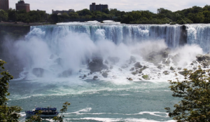 American falls as seen from Canada in 2013