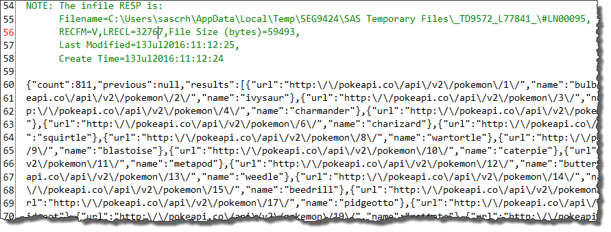 Build your Pokémon library using SAS and the Pokéapi - The SAS Dummy