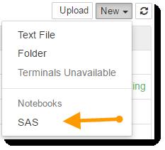 Using Jupyter and SAS together with SAS University Edition