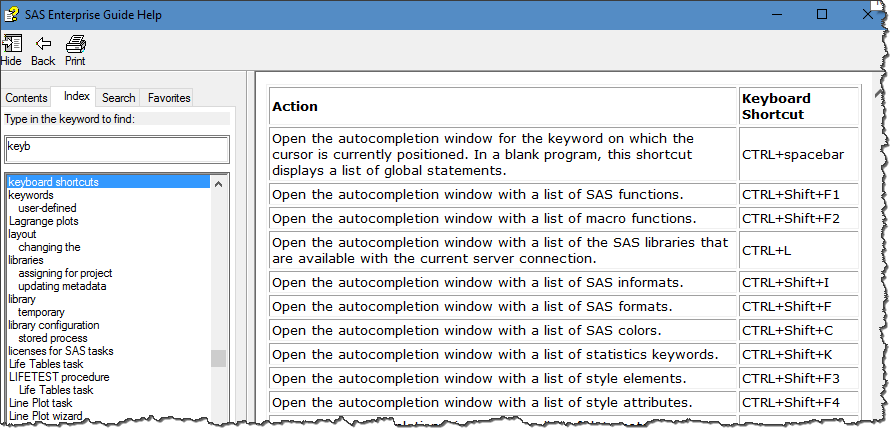 Customize your keys in SAS Enterprise Guide with AutoHotkey - The