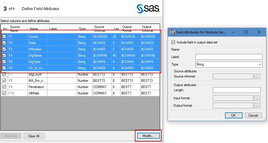 Tricks for importing text files in SAS Enterprise Guide