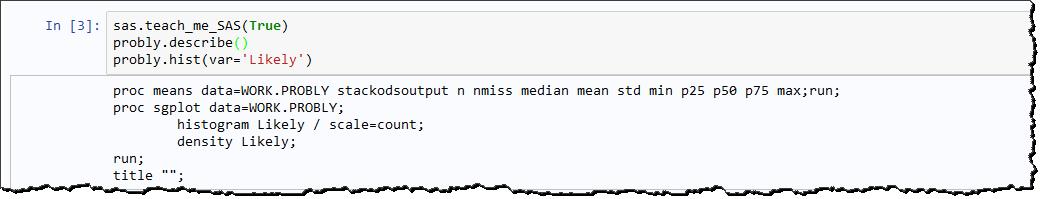 Coding in Python with SAS University Edition - The SAS Dummy