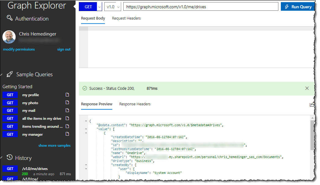 Using SAS with Microsoft OneDrive and SharePoint Online