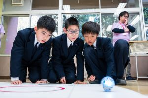 Students deeply investigated how the ball moved