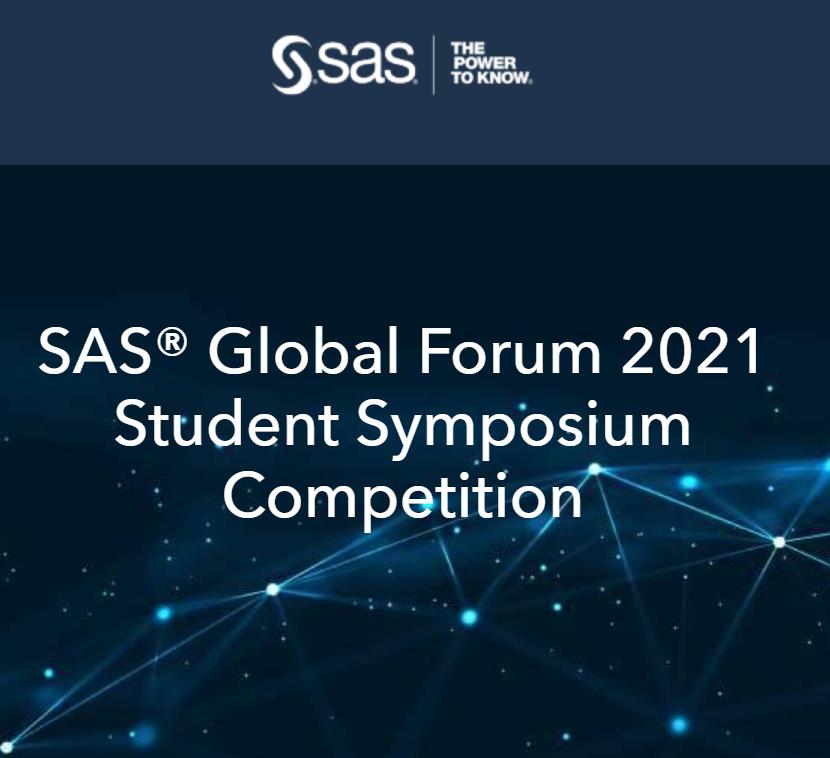 SAS Global Forum 2021 Student Symposium Competition