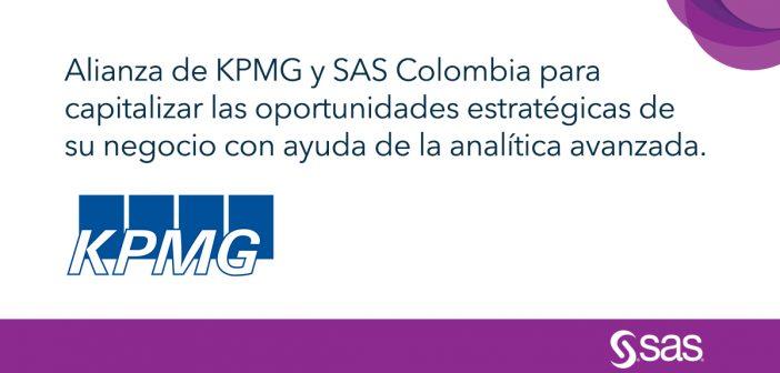 KPMG y SAS Colombia