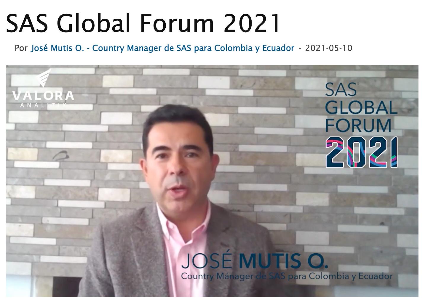 Active su curiosidad: ya llega el SAS Global Forum 2021