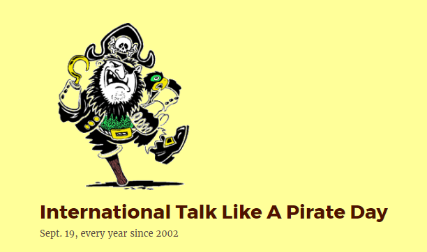 talk like a pirate day - photo #12