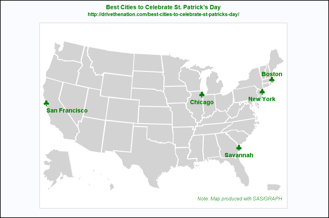 Best cities to celebrate St Patricks Day The SAS Training Post