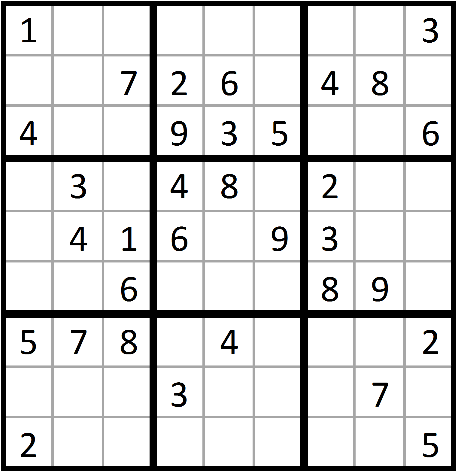 solving sudoku with sas iml the sas training post
