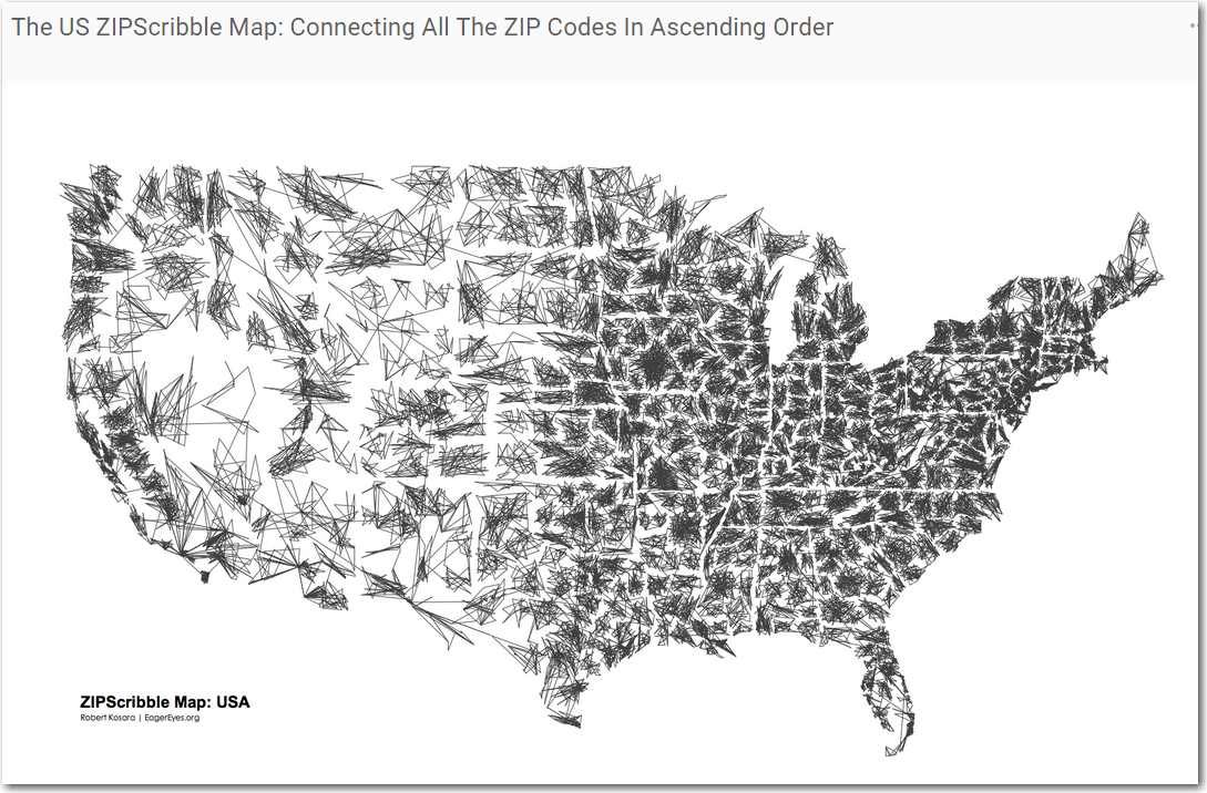 Making A Fun Zip Code Map More Useful With SAS The SAS Training Post - Us postal zone map