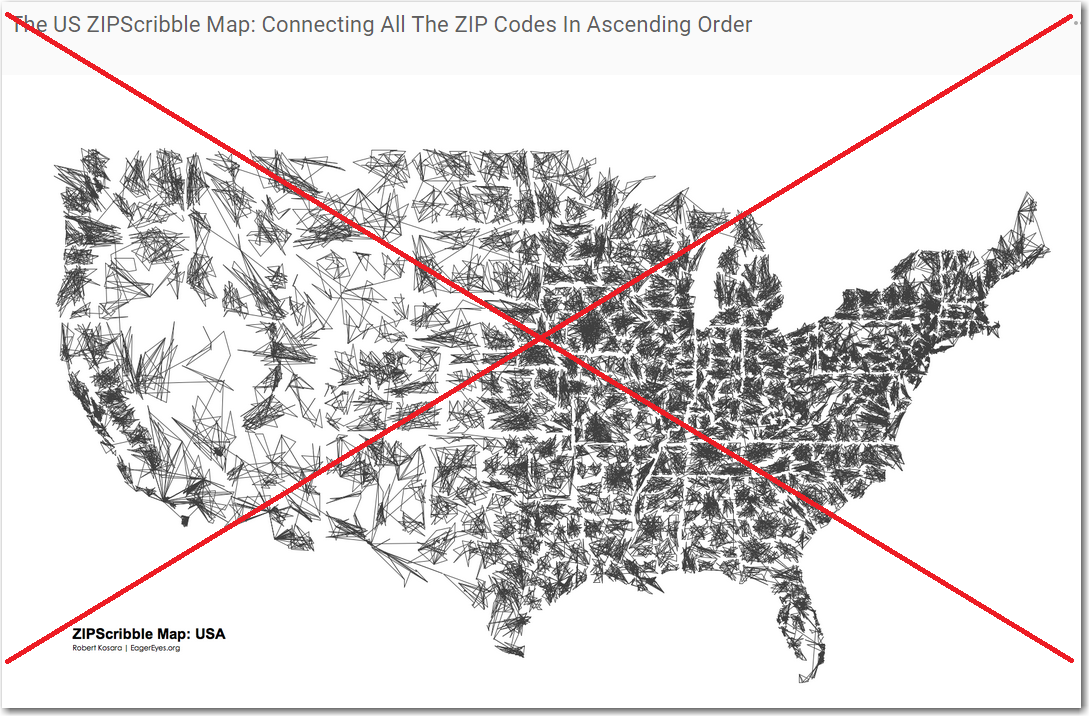 Making a fun zip code map more useful with SAS | The SAS Training Post