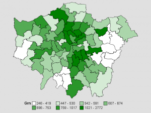 Green Party 2010, London