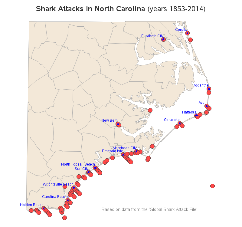 north_carolina_shark_attacks_map