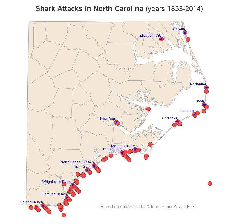 north_carolina_shark_attacks_map